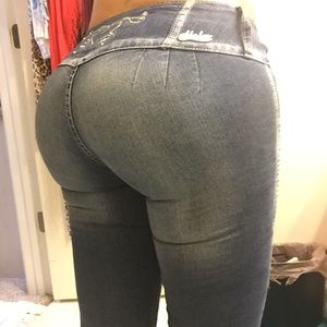 Butt Lift Colombian Jeans